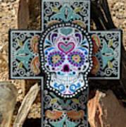 Terlingua Cross Art Print