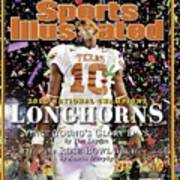 Texas Qb Vince Young, 2006 Rose Bowl Sports Illustrated Cover Art Print