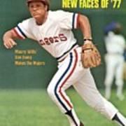 Texas Rangers Bump Wills Sports Illustrated Cover Art Print