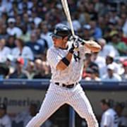 Texas Rangers V New York Yankees Art Print