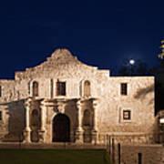 The Alamo, San Antonio Texas With Full Art Print