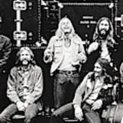 The Allman Brothers Band Art Print