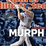 The Amazin Murph 2015 World Series Preview Issue Sports Illustrated Cover Art Print