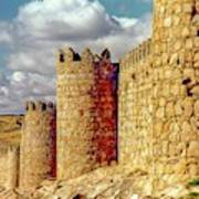 The Ancient City Of, Avila, Spain - Medieval City Walls Art Print