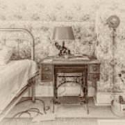 The Antique Sewing Machine Art Print