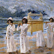 The Ark Passes Over The Jordan, 1902 Art Print