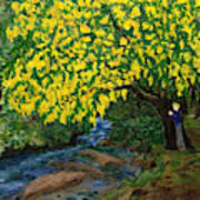 The Artistic Spirit Of Judy Doggett Walker In Blackley Forest Art Print