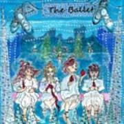 The Ballet Art Print By Nikki Scarpitto