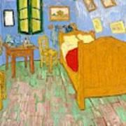 The Bedroom At Arles - Digital Remastered Edition Art Print