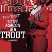 The Best Beyond A Shadow Of A Trout Sports Illustrated Cover Art Print
