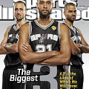The Biggest 3 Sports Illustrated Cover Art Print