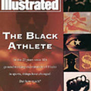 The Black Athlete In The 23 Years Since Sis Groundbreaking Sports Illustrated Cover Art Print