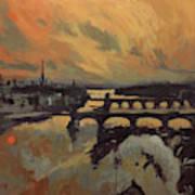 The Bridges Of Maastricht Art Print