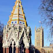 The Buxton Memorial Fountain London Art Print