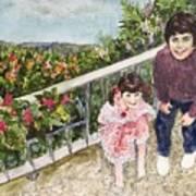The Childrens Garden Art Print
