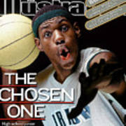 The Chosen One St. Vincent-st. Mary High LeBron James Sports Illustrated Cover Art Print