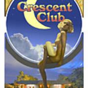 The Crescent Club, Siesta Key Art Print