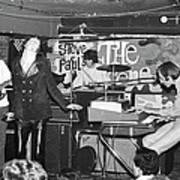 The Doors Perform At Steve Pauls The Art Print