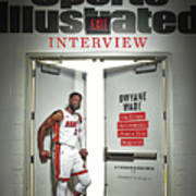 The Exit Interview Miami Heat Dwyane Wade On Rings Sports Illustrated Cover Art Print