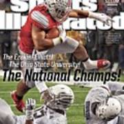 The Ezekiel Elliott The Ohio State University The National Sports Illustrated Cover Art Print
