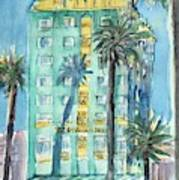 The Georgian Hotel, Santa Monica Art Print