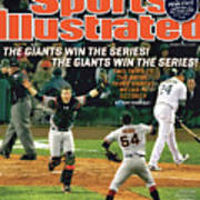 The Giants Win The Series The Giants Win The Series Sports Illustrated Cover Art Print