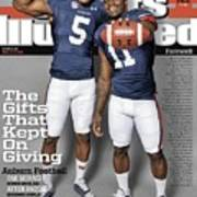 The Gifts That Kept On Giving Auburn Football Sports Illustrated Cover Art Print