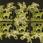 The Golden Race Art Print