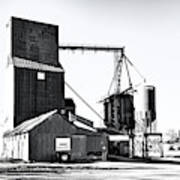 The Grain Elevator Art Print