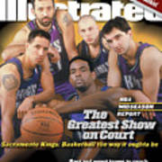 The Greatest Show On Court Sacramento Kings Sports Illustrated Cover Art Print