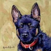 The Guard Dog Art Print