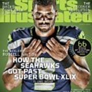 The Healer Russell Wilson 2015 Nfl Football Preview Issue Sports Illustrated Cover Art Print