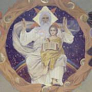 The Holy Trinity Otechestvo, 1907 Art Print