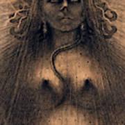 The Idol Of Perversity, 1891 Art Print