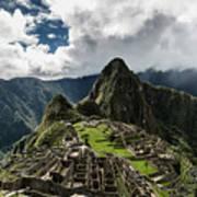 The Inca Trail, Machu Picchu, Peru Art Print