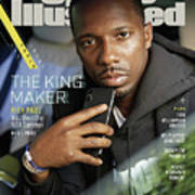 The King Maker Rich Paul Will Own The Nba Summer Sports Illustrated Cover Art Print