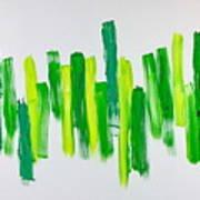 The Kingdom Of Green Art Print