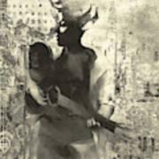 The Lady Plays Art Print