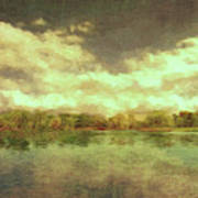 The Lake - Panorama Art Print