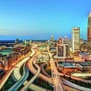 The Lifeblood Of Atlanta Art Print