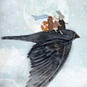 The Light Bird Art Print