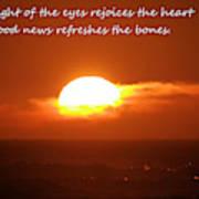 The Light Of The Eyes Art Print
