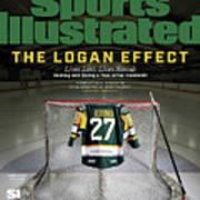 The Logan Effect. Lives Lost, Lives Saved Healing And Sports Illustrated Cover Art Print