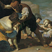 The Massacre Of The Innocents  After       Art Print