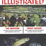 The Masters And Trout Report Sports Illustrated Cover Art Print