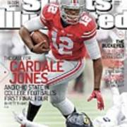 The Mayhem Begins The Case For Cardale Jones And Ohio State Sports Illustrated Cover Art Print