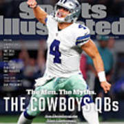 The Men. The Myths. The Cowboys Qbs. Sports Illustrated Cover Art Print