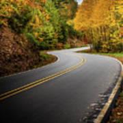 The Mountain Road Art Print