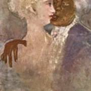 The Mulatto And The Sculpturesque White Woman 1913 Art Print