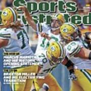 The Mvp Qb The Mind Game Of Aaron Rodgers Sports Illustrated Cover Art Print